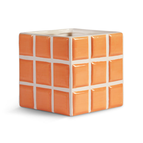 & Klevering: Planter Tile Peach
