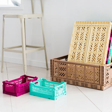 Folding Crate - Mini - Mint