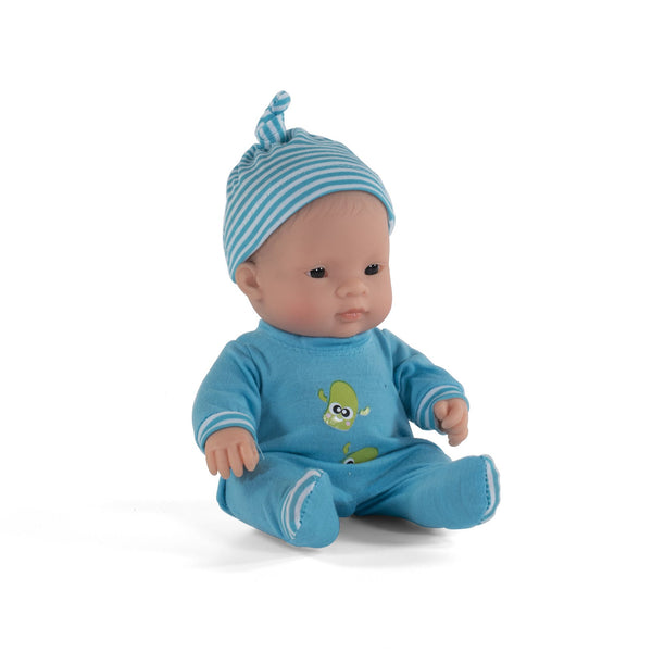 Miniland - Blue pyjama set for 21 cm dolls