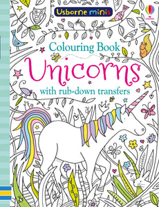 USBORNE MINIS: COLOURING BOOK UNICORNS