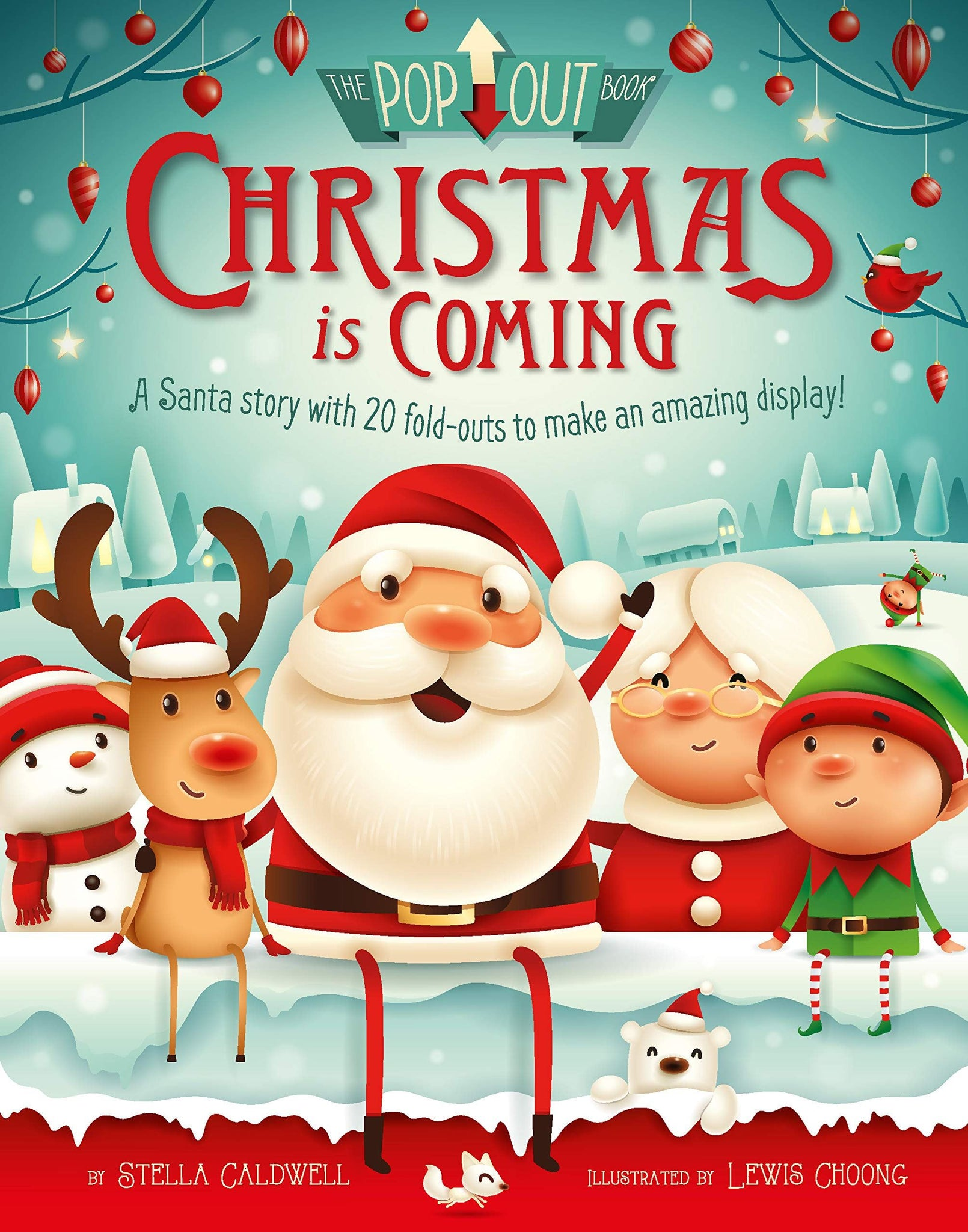 Christmas is coming - pop-out book