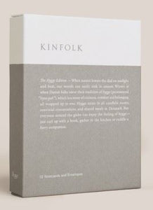KINFOLK NOTECARDS: THE HYGGE EDITION