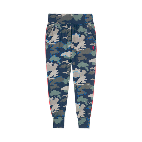 Scamp & Dude: Adult slouch joggers - navy camo