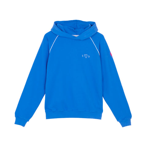 Scamp & Dude:  Adult super soft hoodie - electric blue