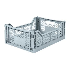 Folding Crate - Medium - Pale Blue