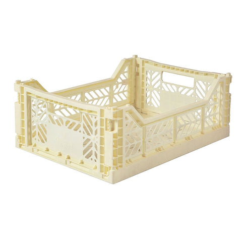 Folding Crate - Medium - Banana