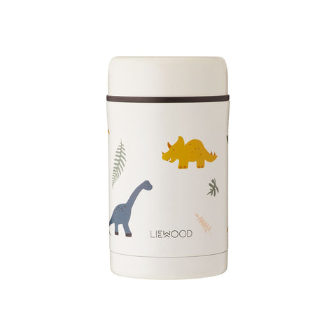 Liewood -  Bernard Food Jar - 500 ml - Dino mix