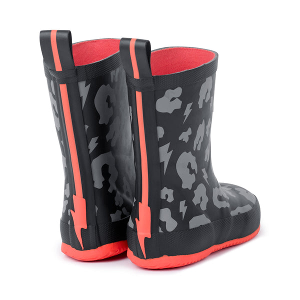 Scamp & Dude: Supercharged toddler leopard print wellies