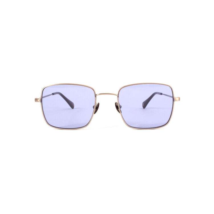 Danielle Rattray Sunglasses - Tippy - Brushed Gunmetal/Blue