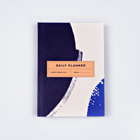 Giant brush no.1 daily planner