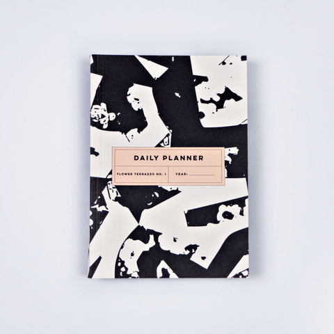 Flower terrazzo no.1 daily planner