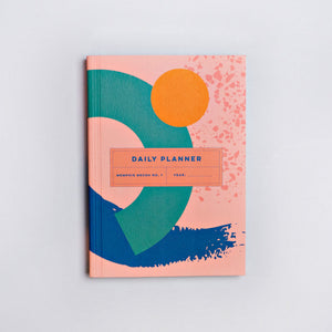 Memphis brush no.1 daily planner book