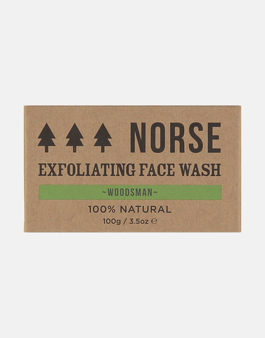 Norse - Exfoliating Face Wash - Woodsman