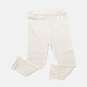 Claude & Co: Oat Organic Rib Leggings