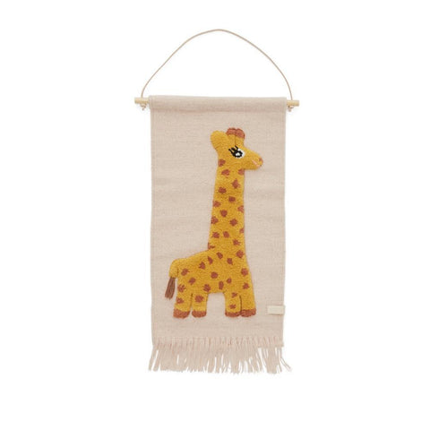 Oyoy Living Design: Giraffe wall hanging - rose