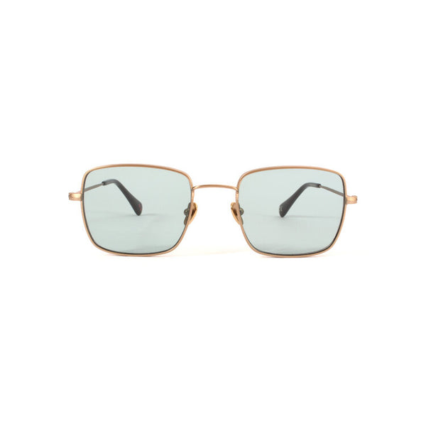 Danielle Rattray Sunglasses - Tippy - Brushed Gold/Green