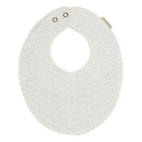 Cam Cam Copenhagen - Jersey Teething Bib - Grey Wave