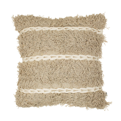 Tufted Stripe Cushion