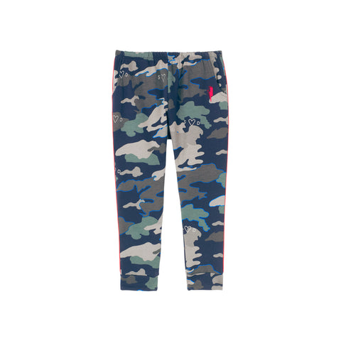 Scamp & Dude: Kids Joggers - Navy Camo Print