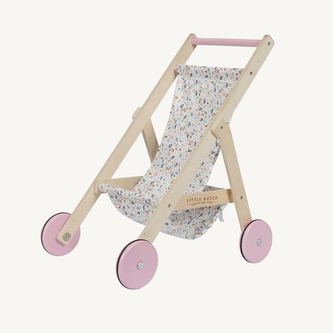 Little Dutch - Doll Stroller Spring Flowers
