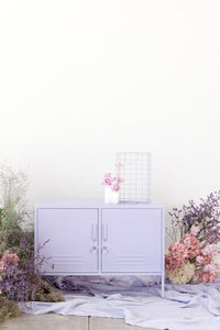 Mustard Made: Storage locker - the lowdown in lilac
