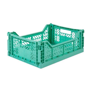 Folding Crate - Medium - Mint