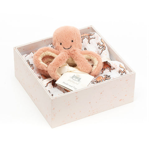Jellycat: Odell Octopus Gift Set