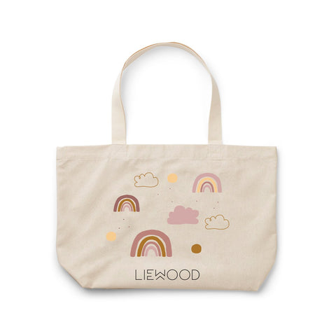 Tote Bag Big - Rainbow love sandy