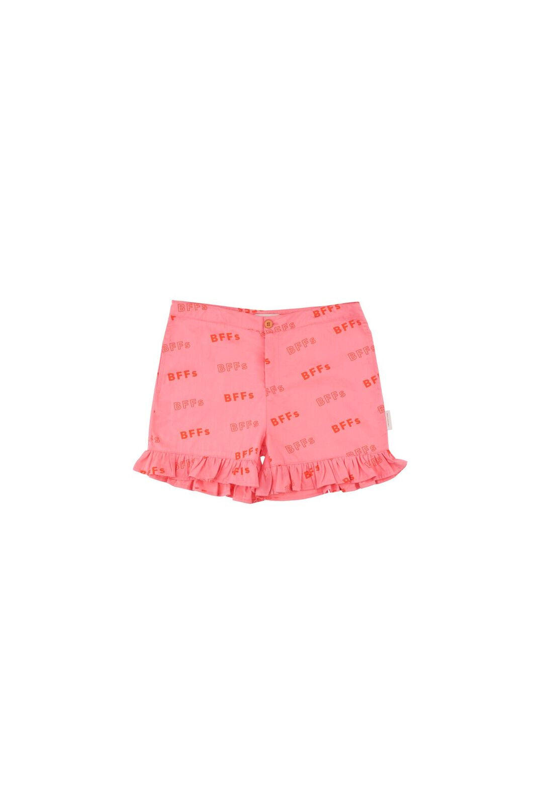 'BFFs' Frills Shorts -  rose/red