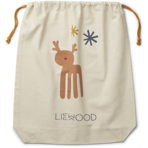 Liewood Christmas sack / storage sack (Big): Holiday Mix