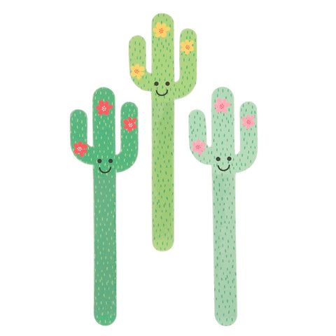 Colourful Cactus Nail Files