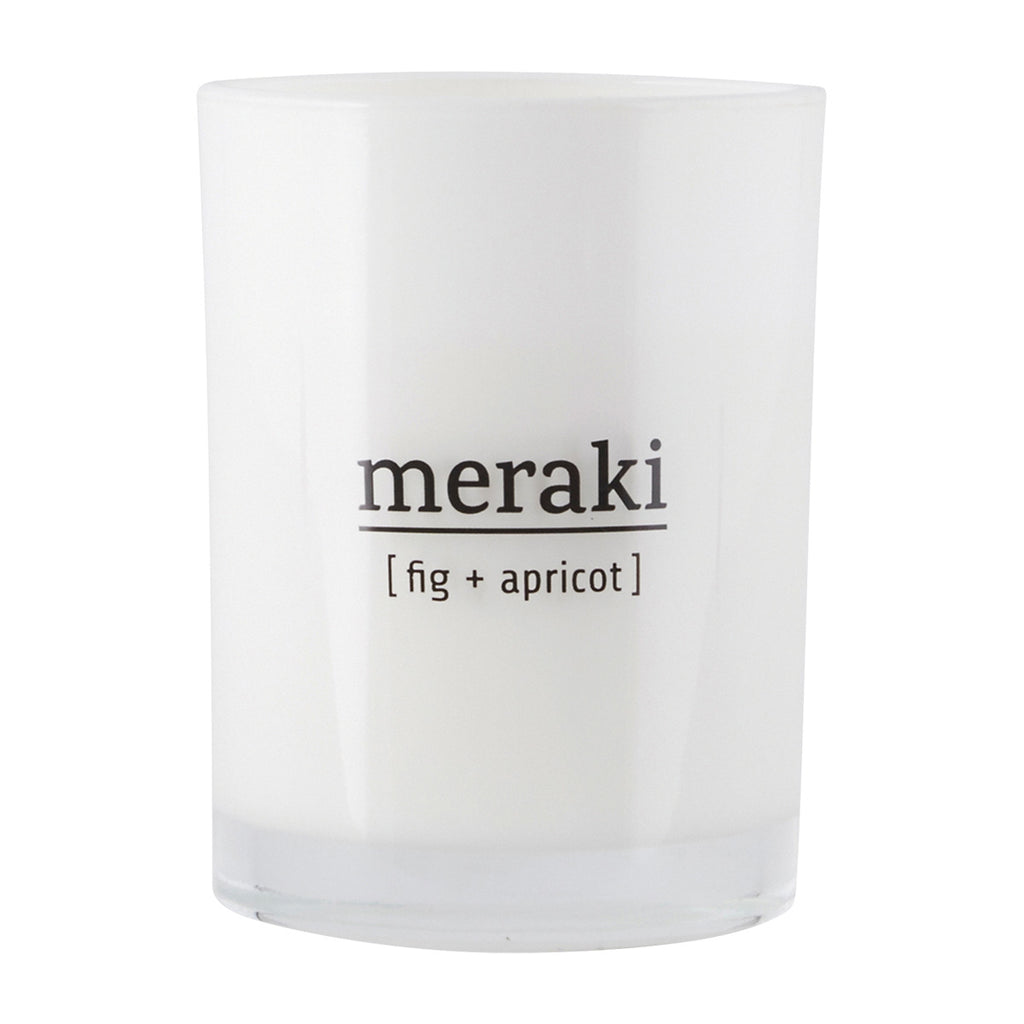 Meraki Small Candle - Fig & Apricot