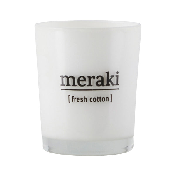 Meraki Small Candle - Fresh Cotton