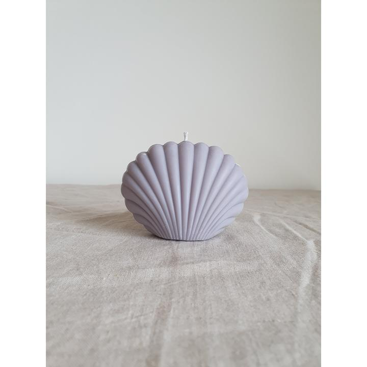 Shell Candle - Pastel Purple