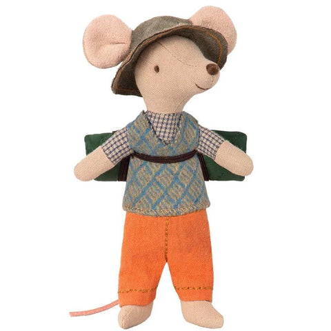 Maileg Hiking Mouse Big Brother
