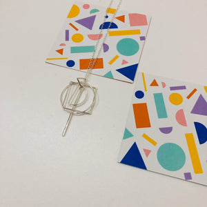 Indi + Will X Lee:Lie  - collaboration - Shapes Pendant