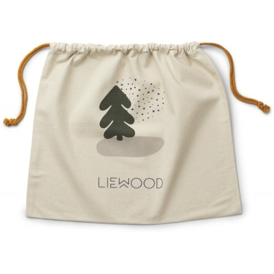 Liewood Christmas sack / storage sack (medium): Holiday Mix