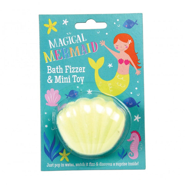 Mermaid bath fizzer