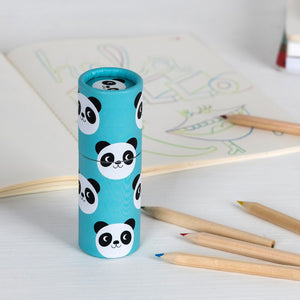 Miko the panda colouring pencils (set of 12)