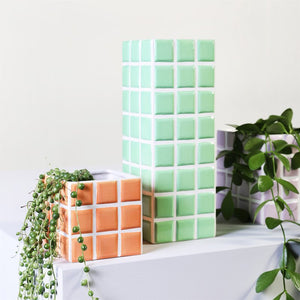 & Klevering: Vase Tile Mint