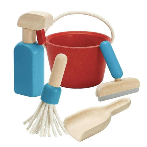 Plan Toys - Cleaning play set