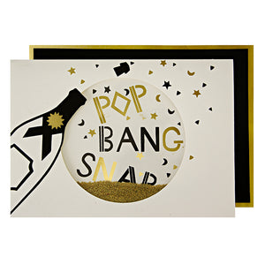 Pop Bang Snap Greeting Card