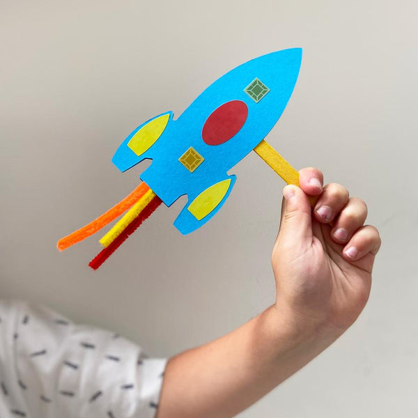 MAKE YOUR OWN ROCKET WAND