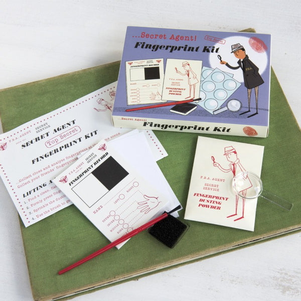 Secret agent fingerprint kit