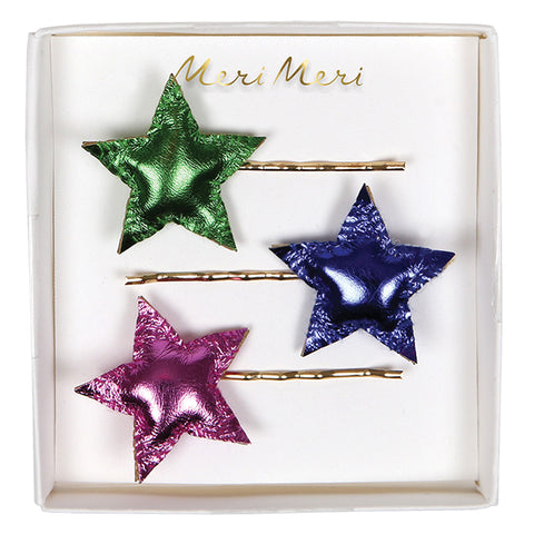 Star Hair Clips