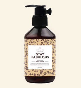 The Gift Label - Hand Cream 'Stay Fabulous'