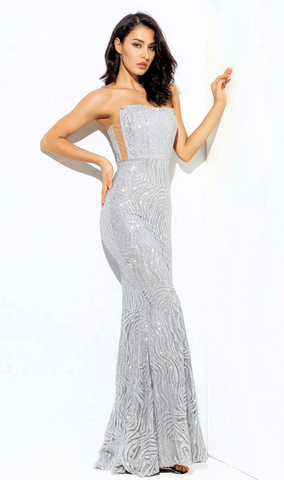 Karlee Sequin Luxe Gown