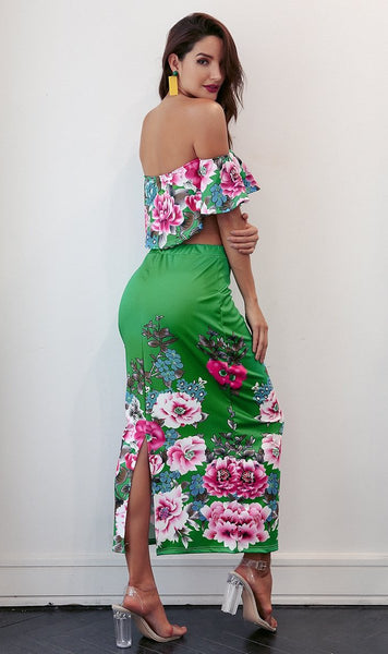 Aliza Floral Dress Outfit