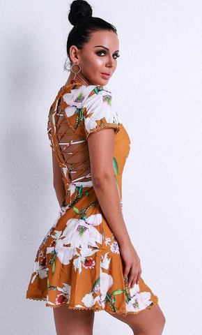 Sophie Casual Floral Dress