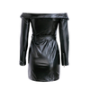 Cam PU Leather Dress